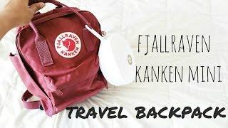 What's In My Carry On Bag/ Fjallraven Kanken Mini