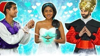 WILL JASMINE GET MARRIED TO ALADDIN OR JAFAR? Totally TV parody 2019