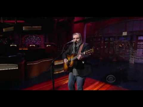 Steve Earle David Letterman Colorado Girl June 2009 Video