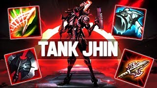 NEW ITEMS WITH TANK JHIN IS INSANE ! SPEAR OF SHOJIN + ATMAS IS PERFECT FOR HIM ! 700 AD TANK LMAO !