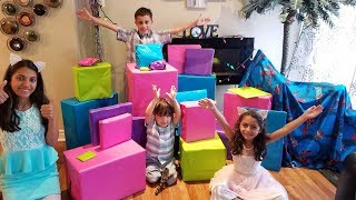 EID MORNING OPENING PRESENTS family fun kids vlog video