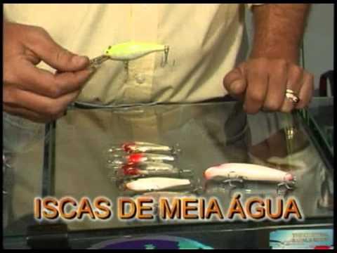 Top Dicas Pesca Dinâmica - Iscas para pescar robalos, em diferentes modalidades