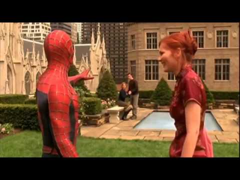 Spider man says fuck you