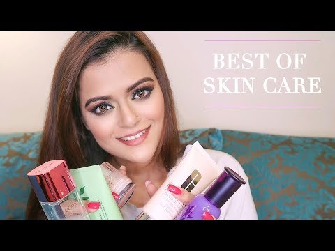 Top Skin Care Products In India For Spotless Skin With Prices | Morning To Night Routine #BestOf2018
