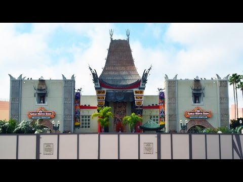 Chinese Theater at Disney's Hollywood Studios Returns to Classic View as Sorcerer Hat Fully Removed