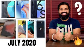 Top Upcoming Smartphones - July 2020🔥🔥🔥
