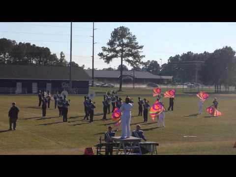 John A Holmes High School Marching band comp pt.1