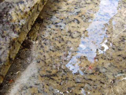 Granito santa cec lia youtube for Colores de granito verde