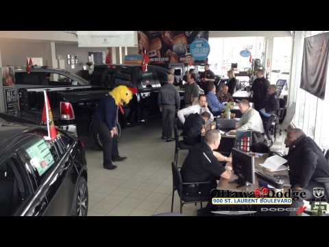 The friendly sales staff at Ottawa Dodge took a couple minutes away from selling cars to have some fun. Make sure to keep up with what we are doing on Facebo...