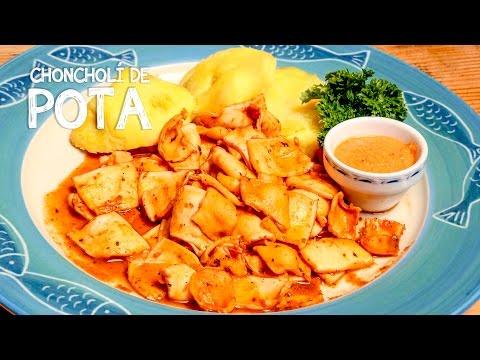 Prepara el rico choncholí de pota. (Foto: A Comer Pescado)