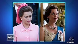 "Helena Bonham Carter on Princess Margaret in ""The Crown"" 