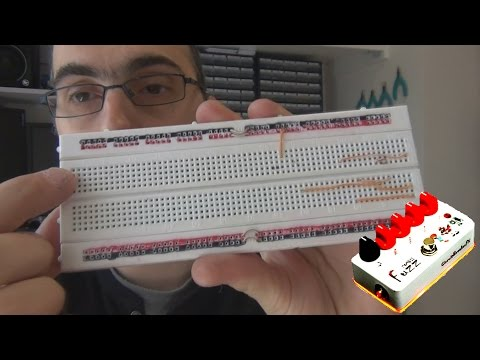 Breadboards - Designing Your Own Guitar Pedal Effect