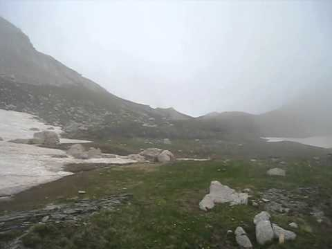 Wind and fog on mount Korab in July 2013.