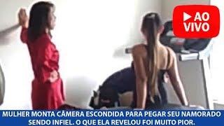 Mulher monta câmera escondida para pegar seu namorado sendo infiel. O que ela revelou foi muito pior