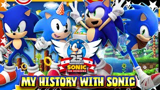 Sonic 25th Anniversary: My History with Sonic