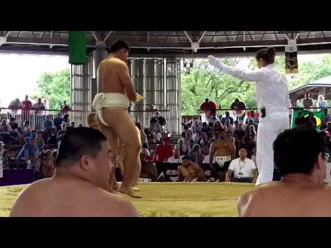 Taipei vs Estonia Junior Sumo World Champs 2015