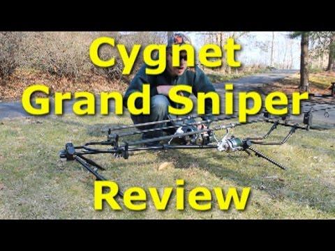 Cygnet Grand Sniper D/L Rod Pod Review - Best fishing rod holder ever!