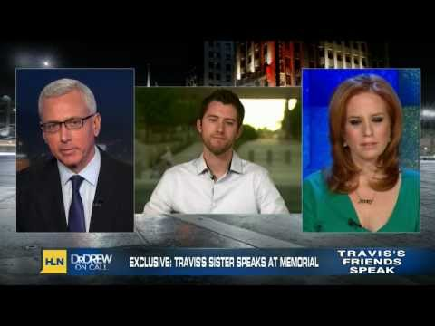 Dr Drew on Call Creepy Jodi Arias at Travis Alexander Memorial Service