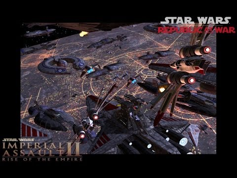 Let's Play Star Wars Republic at War Part 3 The Defence of Mon Calimari