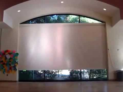 World Screen 25 Foot Blackout Roller Shade by 3 BLIND MICE - SAN DIEGO)