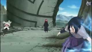 NarutoA - Sasuke Vs Danzo  Figure 09 Linkin Park