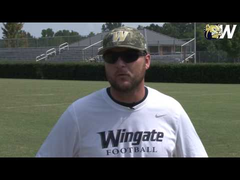 2014 Wingate Football- Position Preview Series- Defensive line w/ Coach Knight