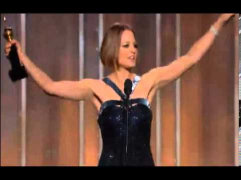 Golden Globe Awards 2013: JODIE FOSTER Gets Life Time Achievement Award | Foster's Emotional Speech