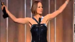 Golden Globe Awards 2013: JODIE FOSTER Gets Life Time Achievement Award | Foster's Emotional Speech