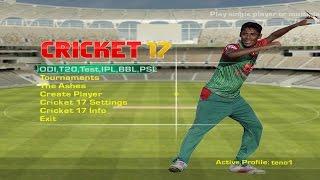 Download EA Sports Cricket 17 PC gameplay  - Pak vs WI 2016 3Gp Mp4