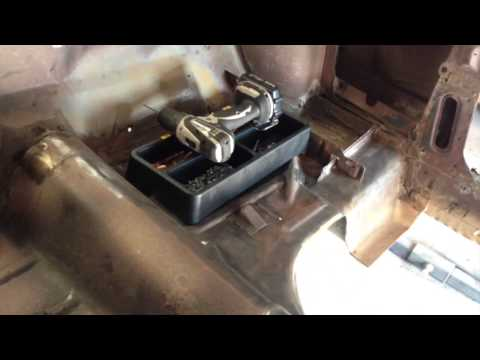 Metal Work New Floor Going In Sandra's 1965 Mustang Fastback - Day 29 video