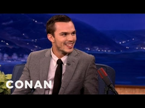 "Nicholas Hoult Channelled Stewie Griffin In ""X-Men"" - CONAN on TBS"