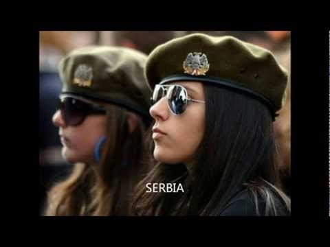mujeres en el ejercito- Women in the Army-the xx intro