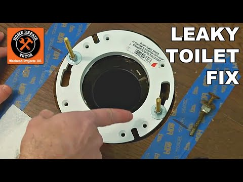 Fix a Leaking Toilet Bowl
