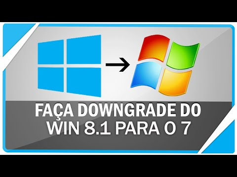 Como fazer downgrade ( Voltar ) do windows 8.1 para o 7 - Sem perder arquivos