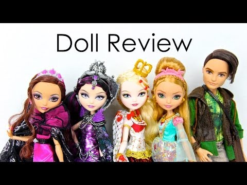 Doll Collection Review : Ever After High: Legacy Day and Ashlynn Ella & Hunter