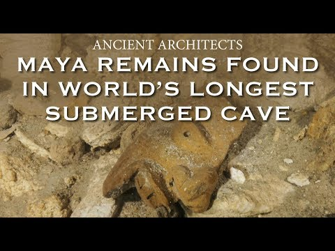 New Discovery: Ancient Maya Remains Found in World's Longest Submerged Cave | Ancient Architects