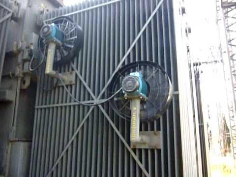 Ventilacion forzada de transformadores