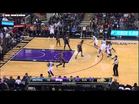 Kings double drag vs Pacers