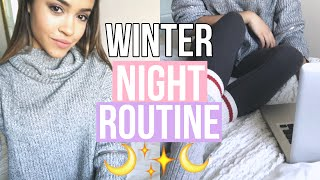 MY AFTER SCHOOL WINTER NIGHT ROUTINE! | Maria Bethany