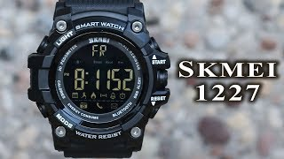 Skmei 1227 smart watch full review #72