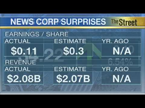 Ad Revenue Declines Hit CBS and News Corp Earnings