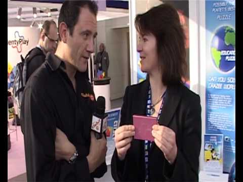 Clubit TV at London Toy Fair 2010 - Nkryptor Puzzle review