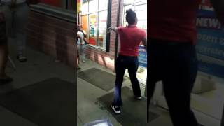 When stealing go wrong at Family Dollar