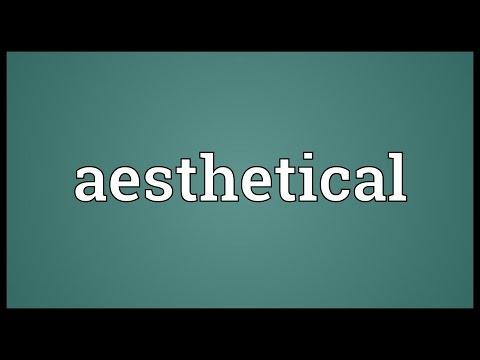 Header of aesthetical