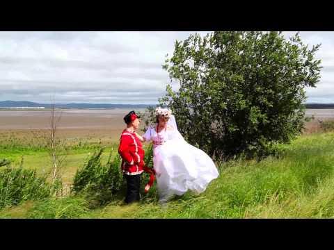 Свадьба в русско-народном стиле