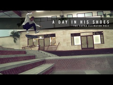 Erik Ellington - A Day In His Shoes | The Supra Ellington Vulc