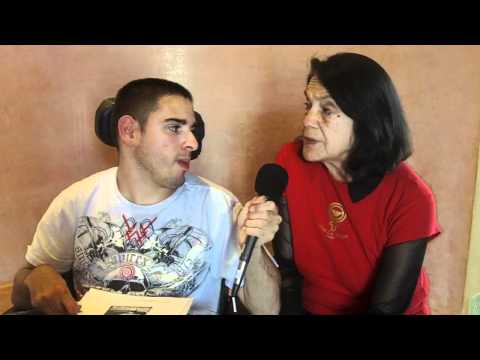 Generation Justice Interviews Dolores Huerta at the 18th Annual Cesar Chavez Celebration & Festival