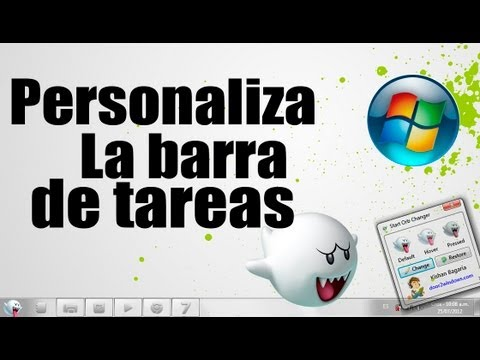 Personaliza Windows 7: Cambiar ORB Y Centar iconos