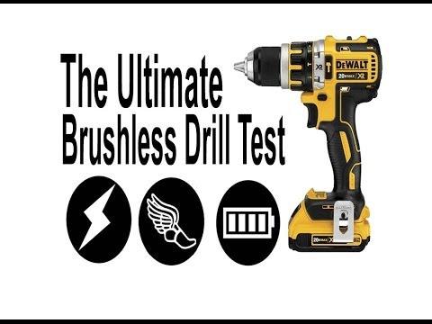 The Ultimate Drill Test DeWalt 20v Brushless Drill