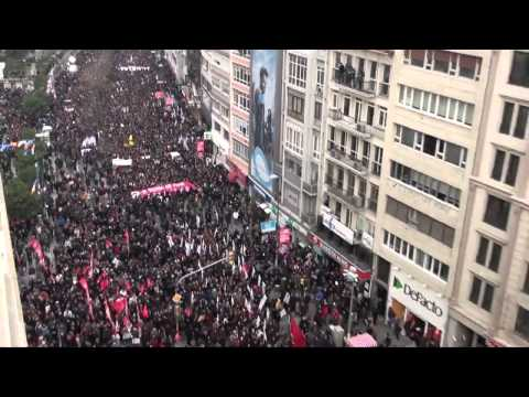 March 12th 2014 Protest in Şişli, Istanbul for Berkin Elvan's funeral